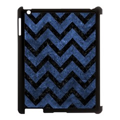 CHV9 BK-MRBL BL-STONE (R) Apple iPad 3/4 Case (Black)