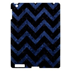 CHV9 BK-MRBL BL-STONE Apple iPad 3/4 Hardshell Case