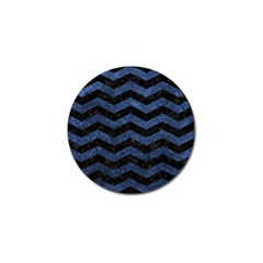 CHV3 BK-MRBL BL-STONE Golf Ball Marker (4 pack)
