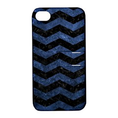 CHV3 BK-MRBL BL-STONE Apple iPhone 4/4S Hardshell Case with Stand