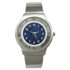 BRK2 BK-MRBL BL-STONE (R) Stainless Steel Watch