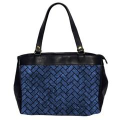 BRK2 BK-MRBL BL-STONE (R) Office Handbags (2 Sides)