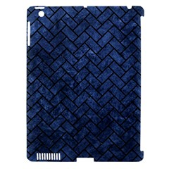 BRK2 BK-MRBL BL-STONE (R) Apple iPad 3/4 Hardshell Case (Compatible with Smart Cover)
