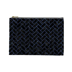 BRK2 BK-MRBL BL-STONE Cosmetic Bag (Large)