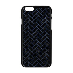 BRK2 BK-MRBL BL-STONE Apple iPhone 6/6S Black Enamel Case