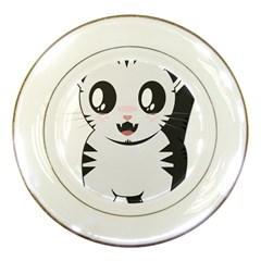Meow Porcelain Plates