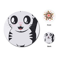 Meow Playing Cards (Round)