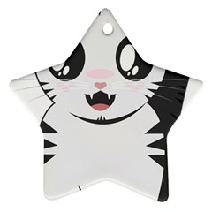 Meow Star Ornament (Two Sides)