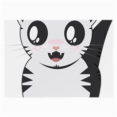 Meow Large Glasses Cloth (2-Side)