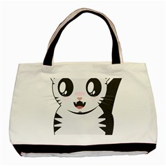 Meow Basic Tote Bag (Two Sides)