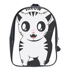Meow School Bags (XL)