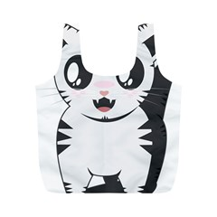 Meow Full Print Recycle Bags (M)