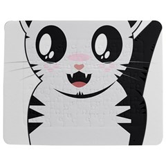 Meow Jigsaw Puzzle Photo Stand (Rectangular)