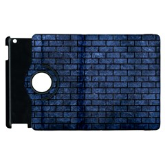 BRK1 BK-MRBL BL-STONE (R) Apple iPad 2 Flip 360 Case