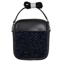 BRK1 BK-MRBL BL-STONE Girls Sling Bags