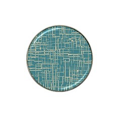 Hand Drawn Lines Background In Vintage Style Hat Clip Ball Marker