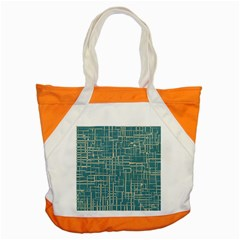 Hand Drawn Lines Background In Vintage Style Accent Tote Bag