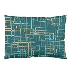 Hand Drawn Lines Background In Vintage Style Pillow Case