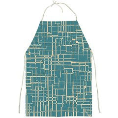 Hand Drawn Lines Background In Vintage Style Full Print Aprons