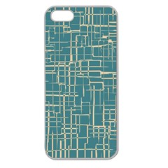 Hand Drawn Lines Background In Vintage Style Apple Seamless iPhone 5 Case (Clear)