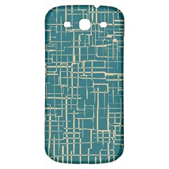 Hand Drawn Lines Background In Vintage Style Samsung Galaxy S3 S III Classic Hardshell Back Case