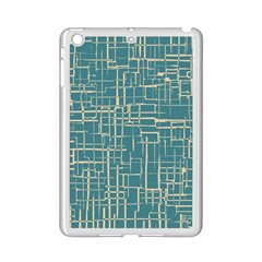 Hand Drawn Lines Background In Vintage Style iPad Mini 2 Enamel Coated Cases
