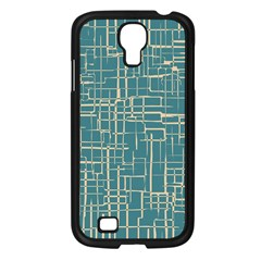 Hand Drawn Lines Background In Vintage Style Samsung Galaxy S4 I9500/ I9505 Case (Black)