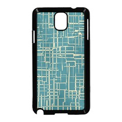 Hand Drawn Lines Background In Vintage Style Samsung Galaxy Note 3 Neo Hardshell Case (Black)