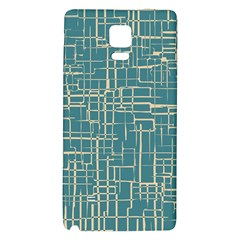 Hand Drawn Lines Background In Vintage Style Galaxy Note 4 Back Case