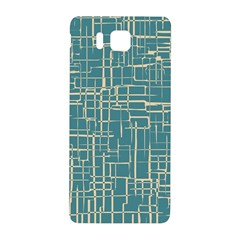 Hand Drawn Lines Background In Vintage Style Samsung Galaxy Alpha Hardshell Back Case