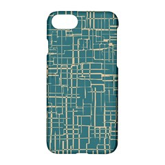 Hand Drawn Lines Background In Vintage Style Apple Iphone 7 Hardshell Case