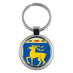 Coat of Arms of Aland Key Chains (Round)