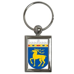 Coat of Arms of Aland Key Chains (Rectangle)