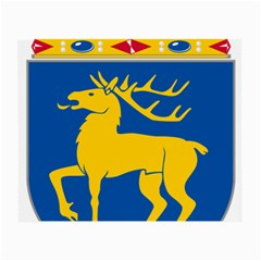 Coat of Arms of Aland Small Glasses Cloth