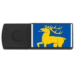 Coat of Arms of Aland USB Flash Drive Rectangular (4 GB)