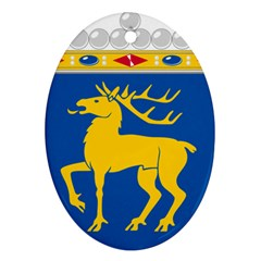 Coat of Arms of Aland Oval Ornament (Two Sides)