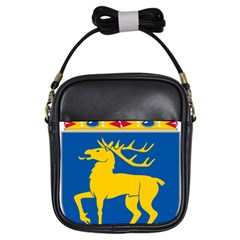 Coat of Arms of Aland Girls Sling Bags