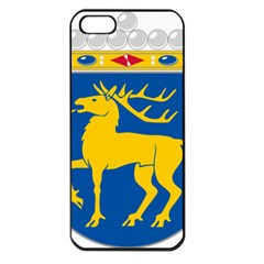 Coat of Arms of Aland Apple iPhone 5 Seamless Case (Black)