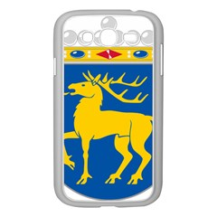 Coat of Arms of Aland Samsung Galaxy Grand DUOS I9082 Case (White)