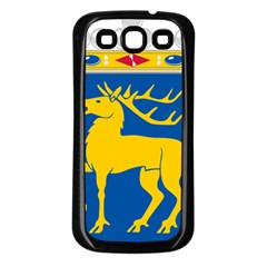 Coat of Arms of Aland Samsung Galaxy S3 Back Case (Black)