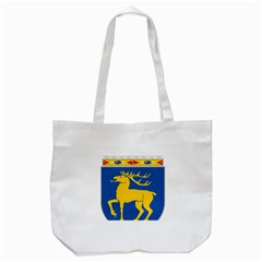 Coat of Arms of Aland Tote Bag (White)