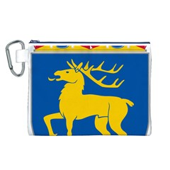 Coat of Arms of Aland Canvas Cosmetic Bag (L)