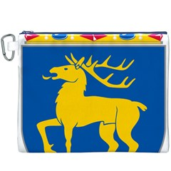Coat of Arms of Aland Canvas Cosmetic Bag (XXXL)
