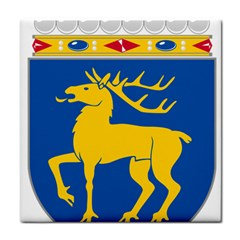 Coat of Arms of Aland Tile Coasters