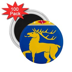 Coat of Arms of Aland 2.25  Magnets (100 pack)