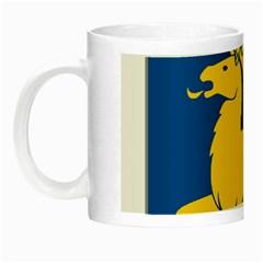 Coat of Arms of Aland Night Luminous Mugs