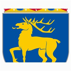 Coat of Arms of Aland Canvas 18  x 24