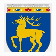Coat of Arms of Aland Medium Glasses Cloth (2-Side)