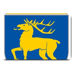 Coat of Arms of Aland Large Doormat