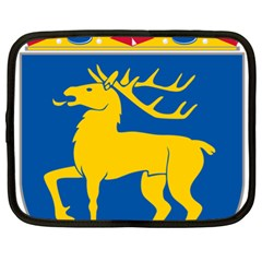 Coat of Arms of Aland Netbook Case (XL)